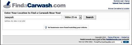 nearest car wash center