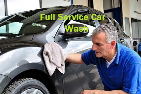 Full service car wash image
