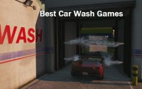 car wash games