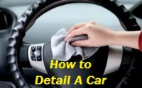How to detail a car
