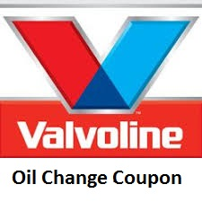 Valvoline Oil Change Coupon August 2018