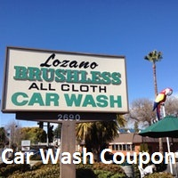 Lozano Car Wash Coupon July 2020