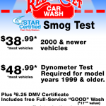 Red carpet SmogTest coupon